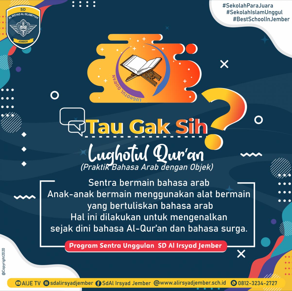 Tau-Gak-Sih-Lughotul-Quran